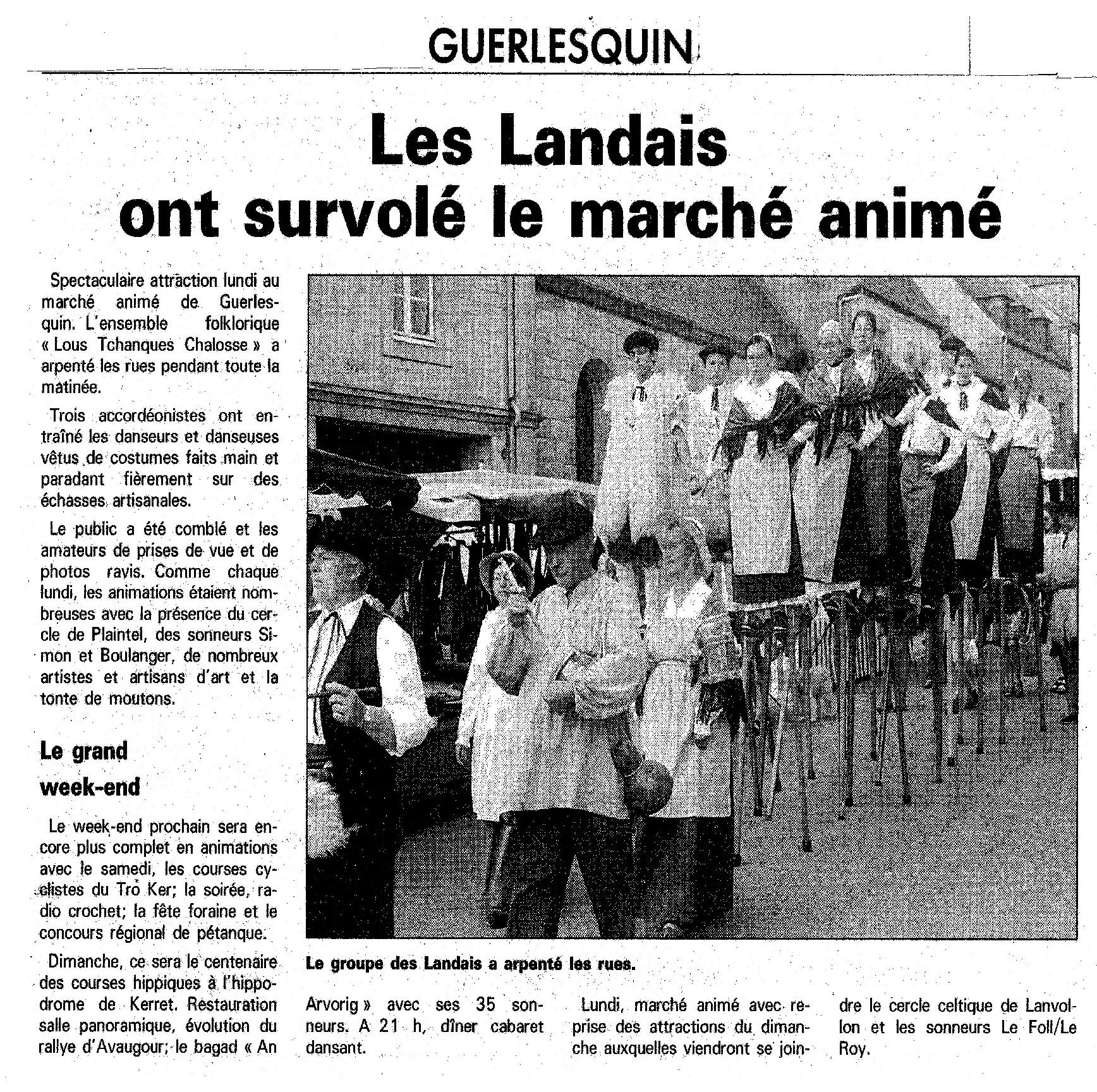 Guerlesquin 2000