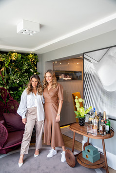 Cliente Mari Saad e arquiteta Sabrina Salles