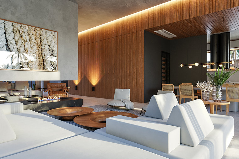 06_3D sala contemporanea - requinte e de