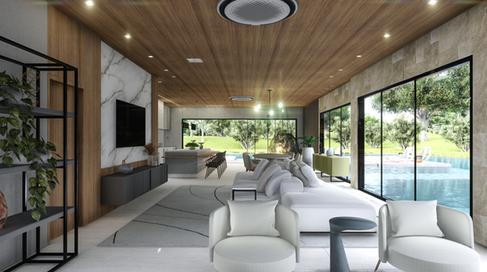 Ambientes integrados e janelões