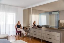 Arquiteta - espelho bronze penteadeira