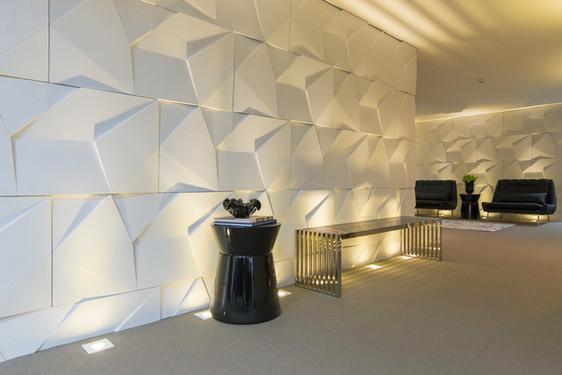 Sala de espera ambiente comercial