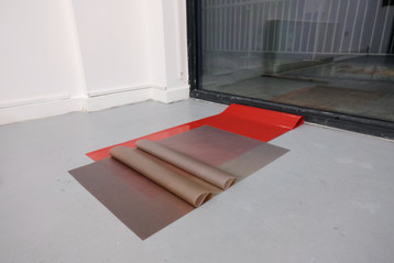 Installation view (detail) of Break Now the Dawn at Plusgood, Enclave, London. March 2020.