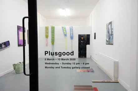 Exhibition space of Plusgood