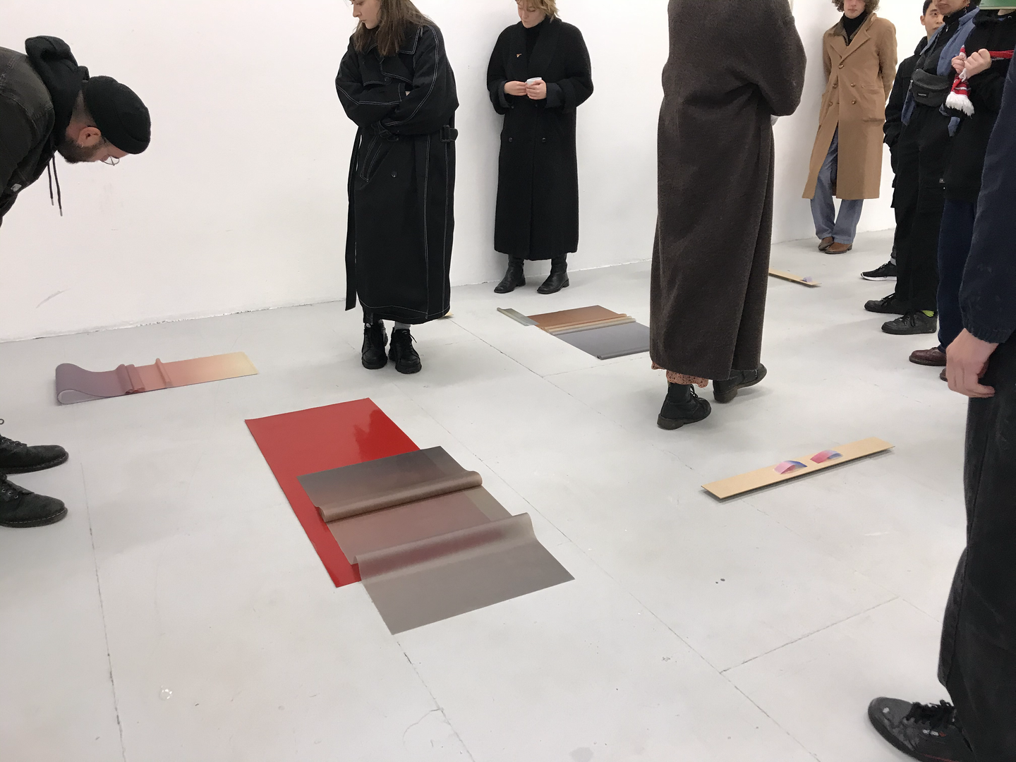 Installation view of Break Now the Dawn at Ben Pimlott Building, Goldsmiths, University of London. Dec 2019.
