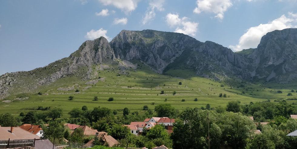 Transsilvanische Landschaft