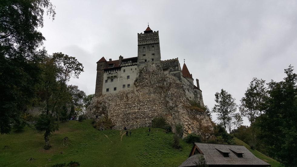 Die Törzburg / Burg Bran