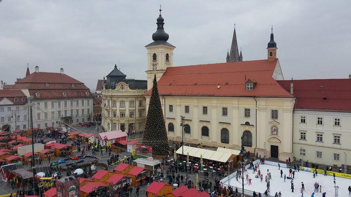 Weihnachtsmarkt in Hermannstadt / Sibiu