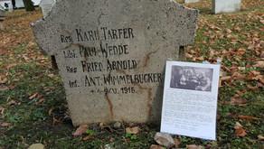 Bewegender Brief auf dem Soldatenfriedhof Kronstadt