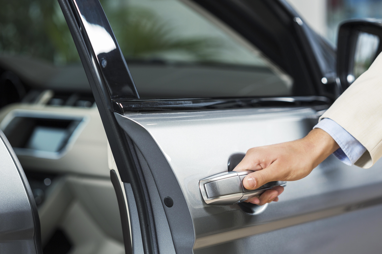 Opening Car Door