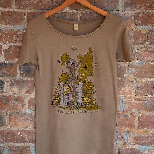 Women's Organic Treehouse T-Shirt