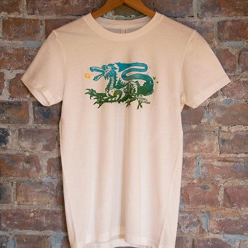 Women's Organic Dragon T-Shirt