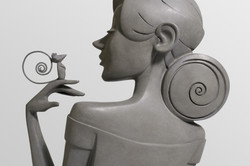 Sculpture bronze - Elle M imaginer