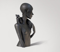 Sculpture bronze - Elle M réinventer