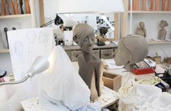 L'atelier de Françoise Francq
