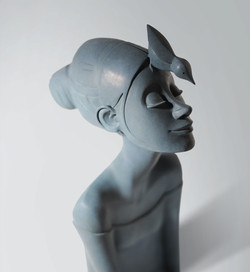 Sculpture bronze - Elle M rêver