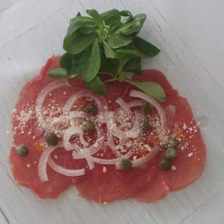 Beef Carpaccio Plate