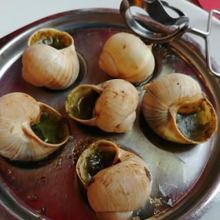Escargot plate