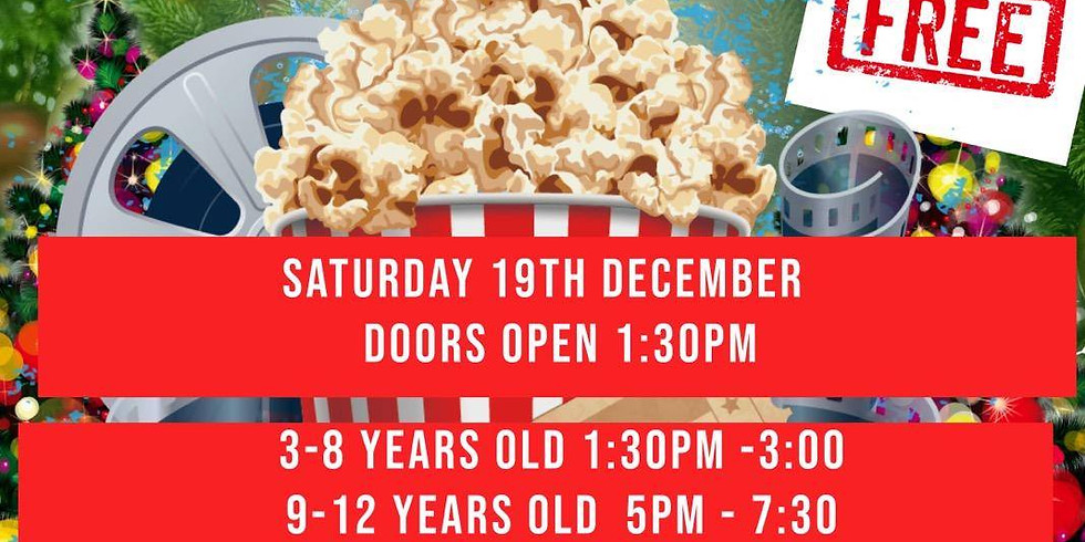 Christmas Movie Day Toy Give Away