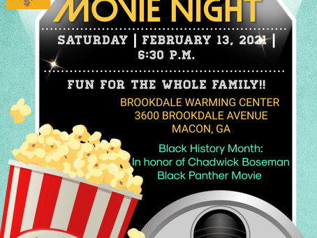 Brookdale Warming Center Movie Night for Residence