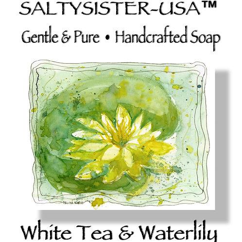 WHITE TEA & WATERLILY • SOAP & BODY BUTTER