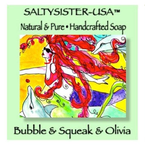 BUBBLE & SQUEAK & OLIVIA • SOAP & BODY BUTTER