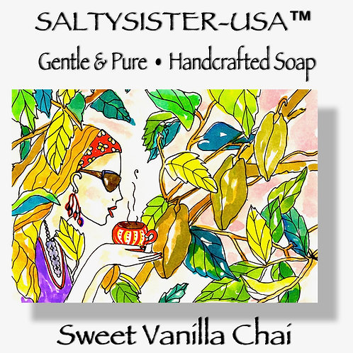 SWEET VANILLA CHAI • SOAP & BODY BUTTER