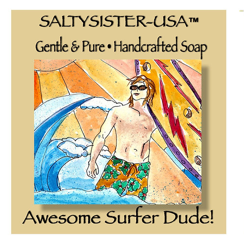 AWESOME SURFER DUDE • SOAP