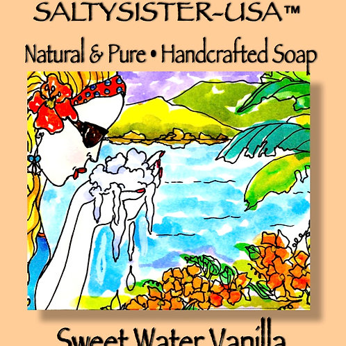 SWEET WATER VANILLA • GOAT'S MILK  SOAP & BODY BUTTER