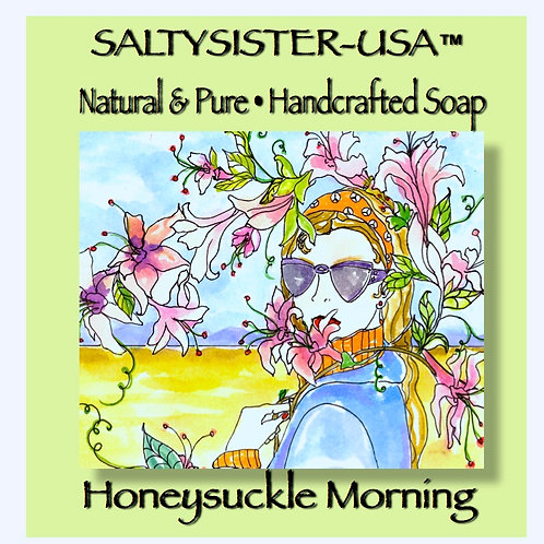 HONEYSUCKLE MORNING • SOAP