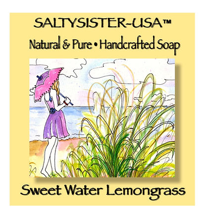 SweetWaterLemongrass • Soap