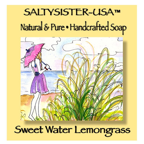 SWEET WATER LEMONGRASS • SOAP & BODY BUTTER