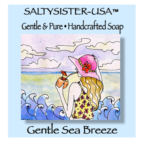 GENTLE SEA BREEZE • SOAP & BODY BUTTER