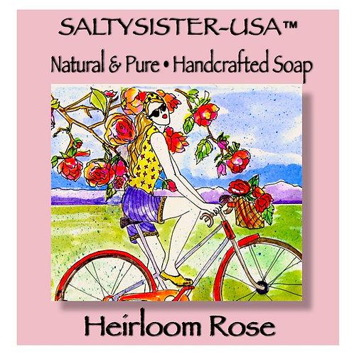 HEIRLOOM ROSE • GOAT'S MILK SOAP & BODY BUTTER