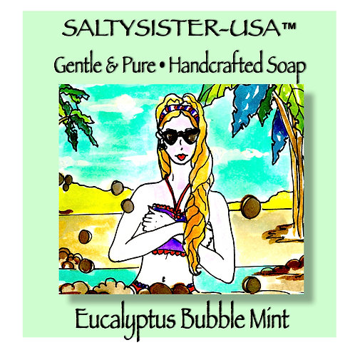 EUCALYPTUS BUBBLE MINT • SOAP & BODY BUTTER