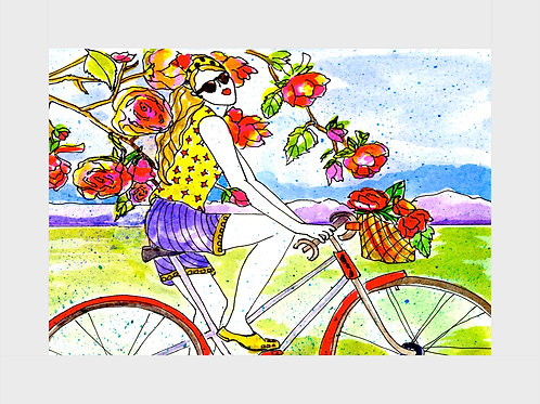 Heirloom Rose • Watercolor Print