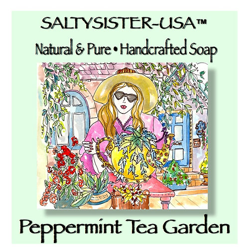 PEPPERMINT TEA GARDEN • SOAP