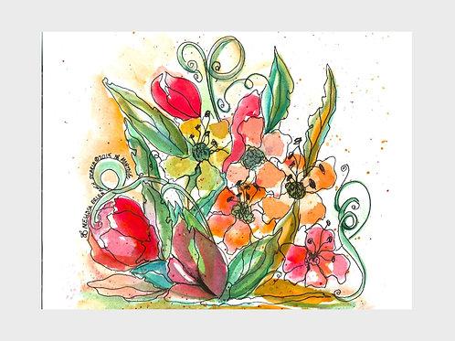 Montage • Watercolor Print