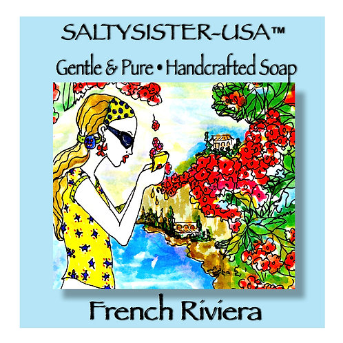 FRENCH RIVIERA • SOAP & BODY BUTTER