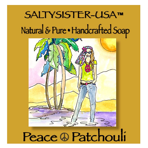 PEACE PATCHOULI • SOAP & BODY BUTTER