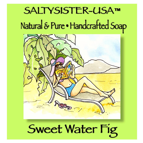 SWEET WATER FIG • GOAT MILK SOAP & BODY BUTTER