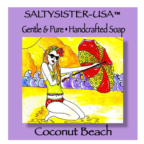 COCONUT BEACH • SOAP & BODY BUTTER