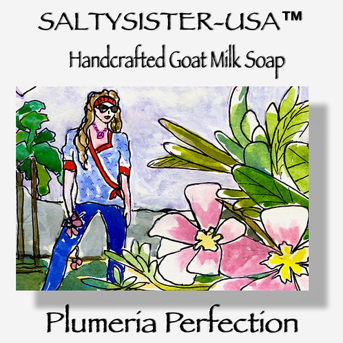 PLUMERIA PERFECTION • GOAT MILK SOAP & BODY BUTTER