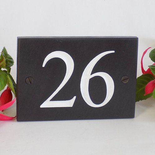 SPECIAL! slate number only £16.00