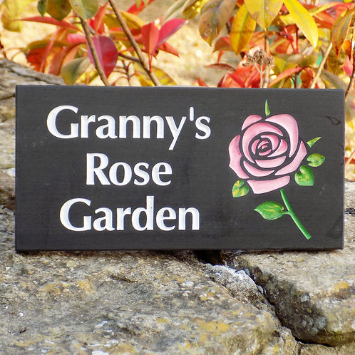 Personalised Garden Signs
