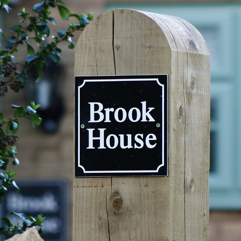 Personalised Classic House Signs