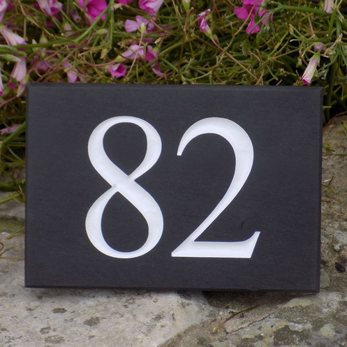 a4f7dab7033f Slate Number Sign from £26.50