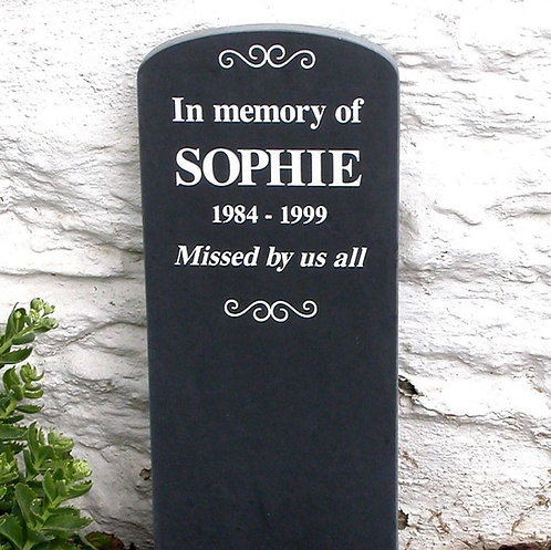 Personalised Slate Headstones