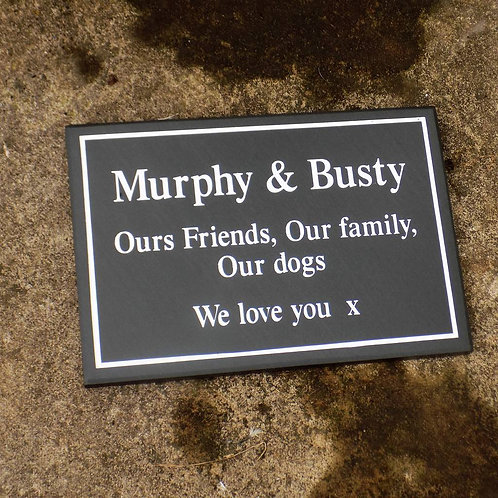 Pet Memorial Plaque from £85.00