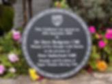 commemorative opening plaque
